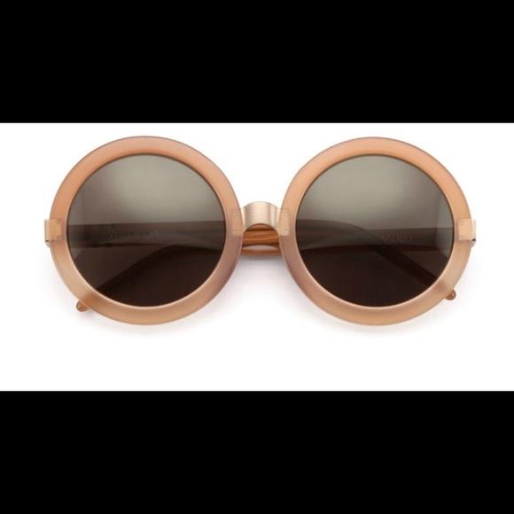 d9706083fa Wildfox    Malibu  56mm Round Sunglasses